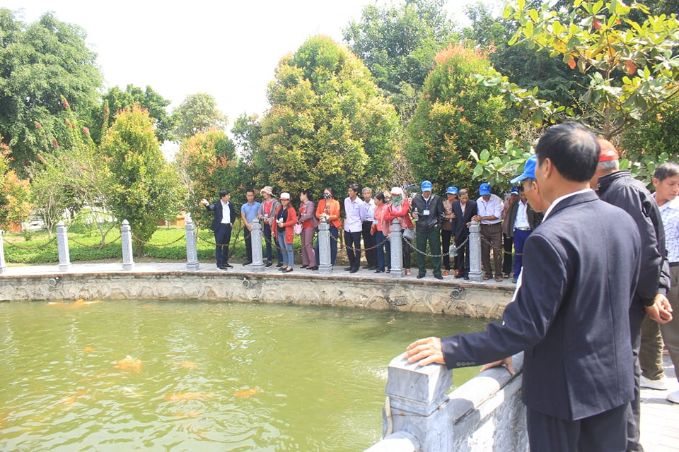 Tổng công ty Cổ phần Hợp Lực – Đón đoàn nhân dân xã Hưng Tây, huyện Hưng Nguyên, tỉnh Nghệ An về tham quan Phúc Lạc Viên Thanh Hóa